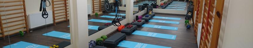 Oferta wynajęcia salki fitness  Kliknięcie w obrazek spowoduje wyświetlenie jego powiększenia