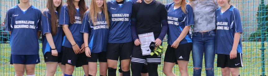Piłkarki z Goczałkowic Mistrzyniami Powiatu w piłce nożnej Kliknięcie w obrazek spowoduje wyświetlenie jego powiększenia