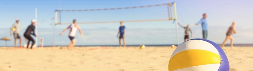 Turniej Siatkówki Plażowej - zapisy Kliknięcie w obrazek spowoduje wyświetlenie jego powiększenia