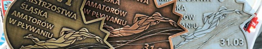 Płynęli w Mistrzostwach Śląska Kliknięcie w obrazek spowoduje wyświetlenie jego powiększenia