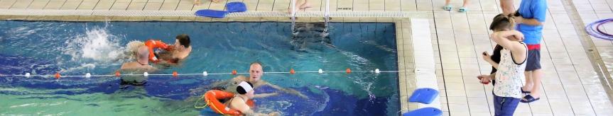 Zawody pływackie osób niepełnosprawnych Kliknięcie w obrazek spowoduje wyświetlenie jego powiększenia