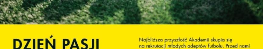 Dni Pasji w Akademii BVB im. Łukasza Piszczka Kliknięcie w obrazek spowoduje wyświetlenie jego powiększenia