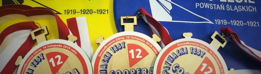 Świetne wyniki Pływackiego Testu Coopera Kliknięcie w obrazek spowoduje wyświetlenie jego powiększenia